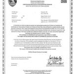 Certificado de buena conducta puerto rico