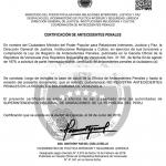 Antecedentes penales venezolanos – Citas MPPRIJP
