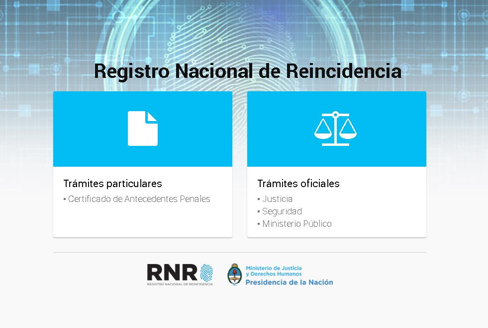 Antecedentes penales Online Argentina ( Morón, La Plata, Mendoza)