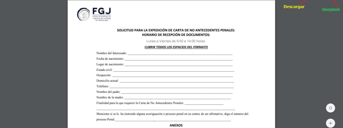Carta de antecedentes no penales Queretaro | Requisitos + Tramite